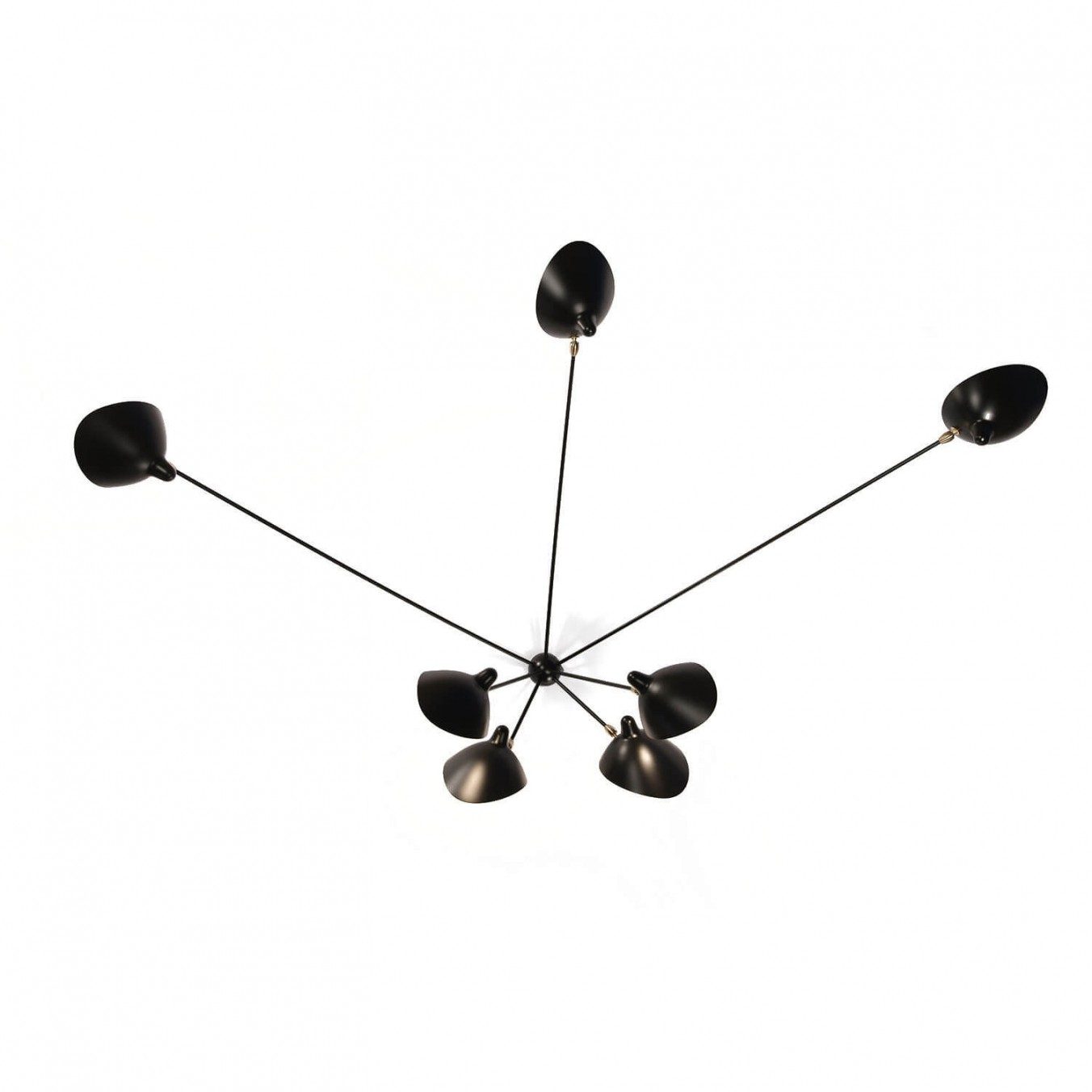 Serge Mouille Spider Wall Lighting